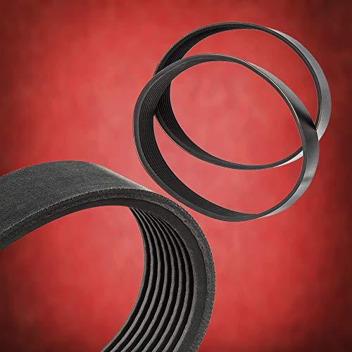 DNLK Treadmill Drive Belts Set Fits Pro Form 285T Treadmill 6Pj508 Made in USA Everlasting