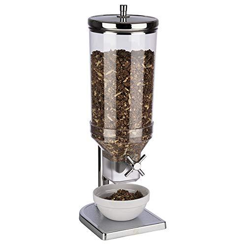 """APS Dispensador de Cereales """"Fresh & Easy"""" - dispensador de Cereales con Recipiente extraíble, con Tapa Especial para Mantener los Cereales Frescos, Capacidad: 4,5 L"""