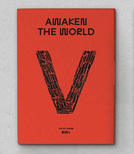 WAYV [AWAKEN THE WORLD] 1st Album AWAKEN VER CD+Libro de fotos+Fold Poster+2P Tarjeta SEALED+TRACKING CODE K-POP SEALED