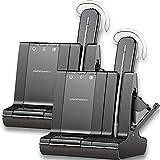 Plantronics Savi W745-M Multi Device Wireless Headset System - 2 Pack