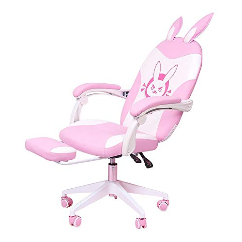 Anchor Computer Chair Cute Pink, Fashionable Home Broadcast Game Office Chair Student Lift Chair
