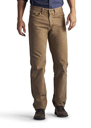 Lee Men's Regular Fit Straight Leg Jean (28W x 30L, Aztec)