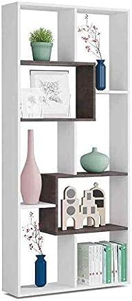 Colore Bianco e Cemento EGLEMTEK Libreria Santa Cruz Design ...