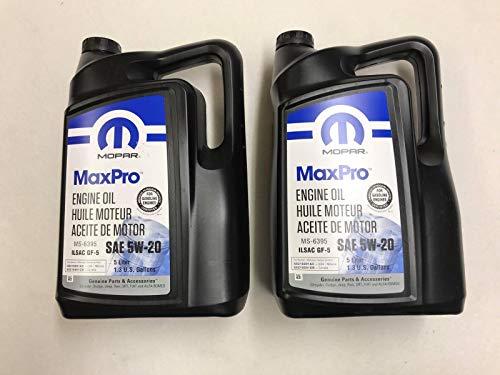 MOPAR 5W20 Genuine Motoröl 10L 68218891AC MS-6395