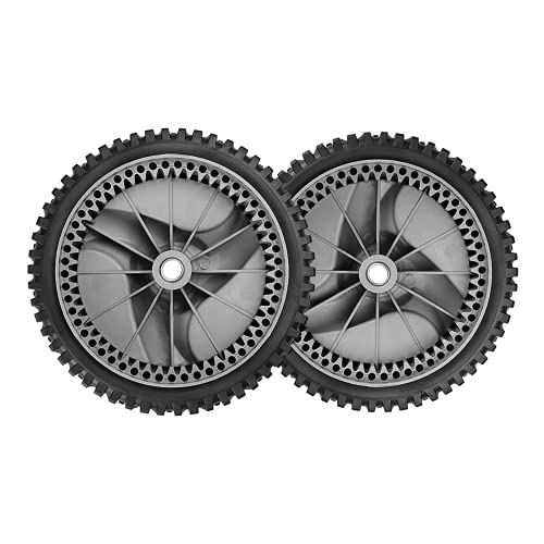 583719501 Front Wheel Tire Compatible with Craftsman HU Sears Poulan Roper Self Propelled Lawn Mower, Replace 194231X460 401273x460 532402567 532402657, 2 Pack
