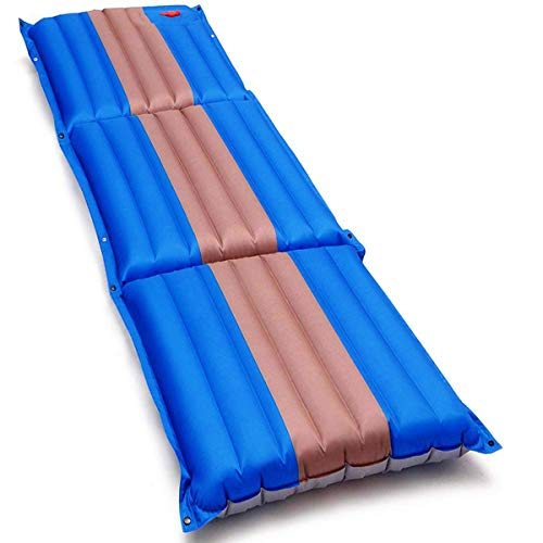 SGODDE Camping Sleeping Pad, Upgraded Inflatable Sleeping Pad for Camping, Camping Mat, Compact Ultralight Air Mat, Built-in Pump Waterproof, Best Camping Mattress for Backpacking Hiking Traveling