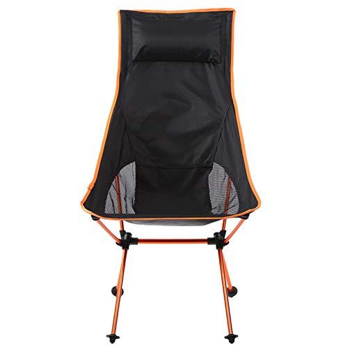 Pwshymi Non slip Camping Chair Durable Fishing Seat for Beach