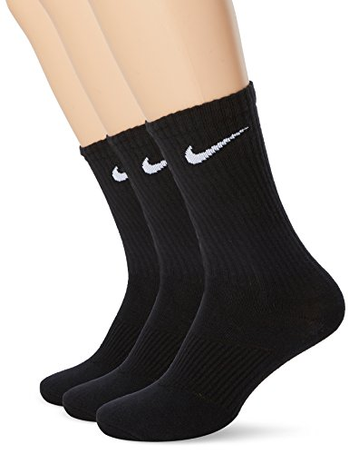 Nike Socken Schwarz 3er Pack PERFORMANCE Black, Size:38-42