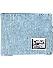 Herschel Roy Coin RFID Cartera Unisex, Denim Claro Crosshatch (Azul) - 10766-04690-OS