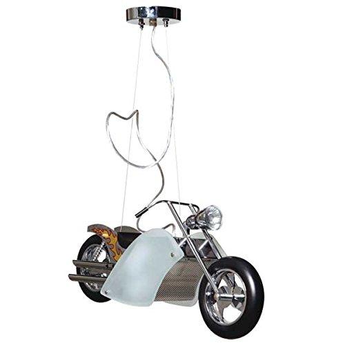 Interfan Lámpara Moto Wild Ride, Blanco