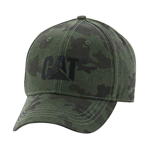 Caterpillar Mens Trademark Cap, Night Camo, One Size