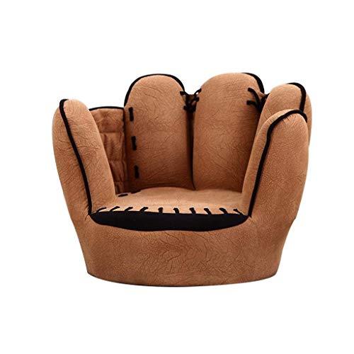 SMLZV Kinder, Sofa, Stuhl, Baseballhandschuh geformten Finger-Stil Kinder Lehnstuhl Mini Sofa weiche Sessel Kindermöbel TV-Stuhl for Kinder