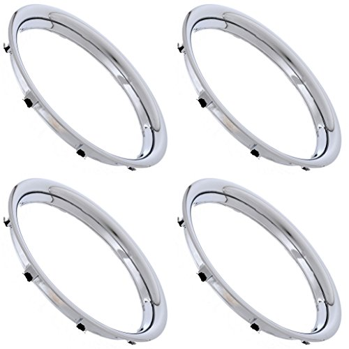 CoverTrend (Set of 4) Chrome Plated 15