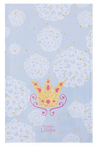 Böing Carpet GmbH Kinderteppich- Die Prinzessin Lillifee Teppich in Blau mit Krone, Zwei Größen Mädchen- Zimmer, Spielteppich, Größe Teppiche:160 x 100 cm
