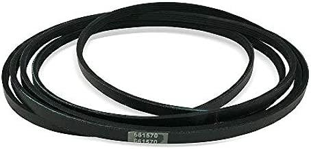 EvertechPRO 661570 Dryer Drum Belt Replacement for Whirlpool Dryer 2925 3387610 3389728 3393999