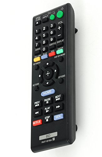 Gorilla babo Universal Remote for Sony Blu-Ray DVD Player BDP-S185 BDP-BX18 BDP-BX510 BDP-BX59 BDP-S1100 BDP-S3100 BDP-S5100 BDP-S390 BDP-S590
