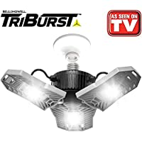 2-Pack Bell+Howell 7529 TriBurst LED Garage Light