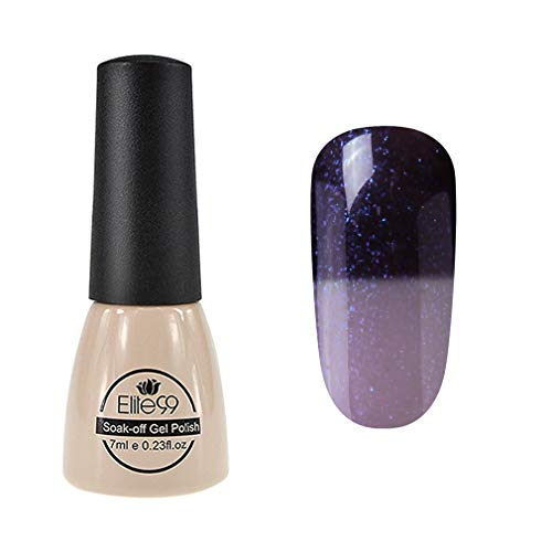 Elite99 Thermal Temperature Color Changing Gel Polish Soak Off UV LED Nail Polish Manicure Nail Art 7ml - 9047