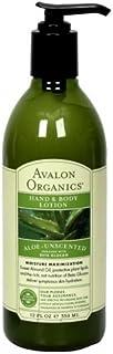 Avalon Organics Aloe Unscented Hand and Body Lotion, 12 Ounce -- 3 per case. [並行輸入品]