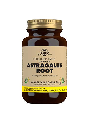 Solgar Chinese Astragalus Root Vegetable Capsules - Pack of 100