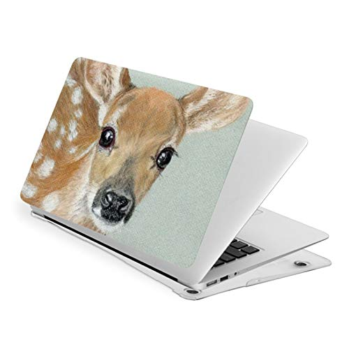 MacBook Air 13 Inch Case Art Deer Fit A1369 A1466 Laptop Slim Hard Shell Plastic Protective Cover