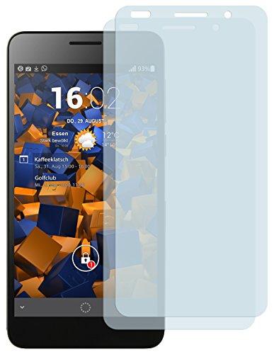 mumbi Schutzfolie kompatibel mit Huawei Honor 6 Folie matt, Displayschutzfolie (2X) - 3