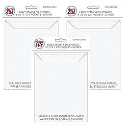 Avery Elle Stamp & Die Large Storage Pockets # SS-5001 (Pack of 3)
