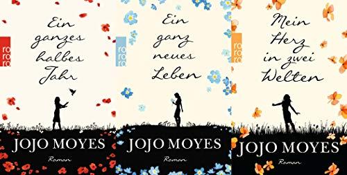Lou Band 1-3 von Jojo Moyes + 1 exklusives Postkartenset