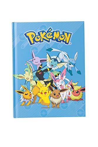 Silver Buffalo Pokemon Notizbuch, Hardcover, Blau