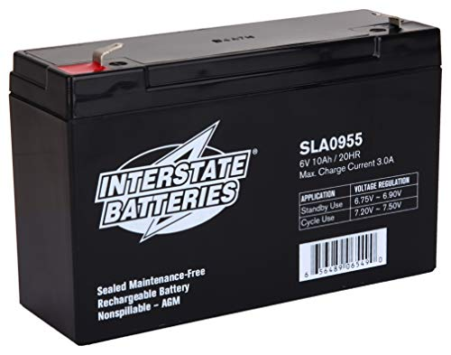 INTERSTATE ALL BATTERY CTR 6V...