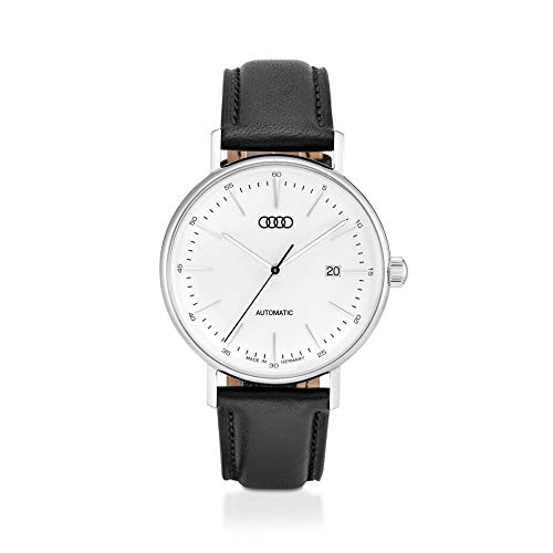 Audi 3101900300 Automatikuhr Limited Edition Uhr Chronograph Armbanduhr Herren Silber/schwarz