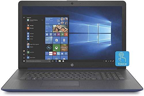 "2018 Flagship HP 17.3"" HD Touchscreen Laptop Computer -Intel Quad-Core i5, 8GB DDR4, 2TB HDD, DVDRW, 802.11ac, Bluetooth, HDMI, Webcam, USB 3.1, Win 10 - Blue"
