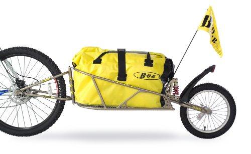 """BOB Fahrrad Anhänger für 28\"""" mit Tasche und Schnellspanner \""""IBEX\"""", gold, 28\"""""""