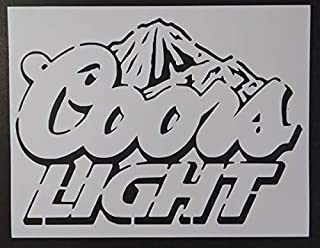 Best coors light stencil Reviews