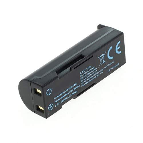 subtel® Batería Compatible con Konica Minolta DiMAGE X50 X60 kompatibel mit Pentax Optio Z10 kompatibel mit Samsung L77 kompatibel mit Sanyo Xacti VPC-A5 NP-70 D-LI72 SLB-0637 DB-L30 accu Repuesto
