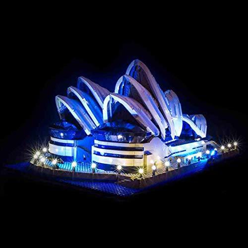TETAKE LED Beleuchtungsset Licht-Set Beleuchtung Light Kit für Lego Creator 10234 - Sydney Opera House (Nicht Enthalten Lego Modell)