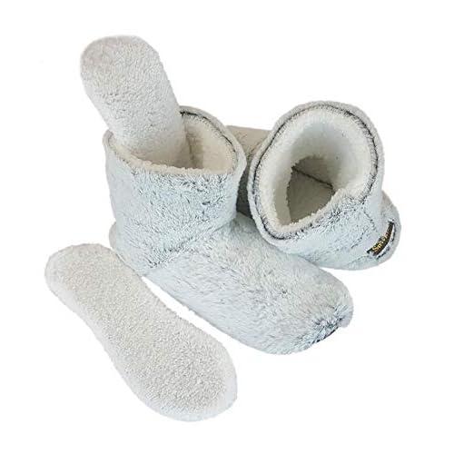 c7f18999fc9 Snookiz Microwaveable Heated Booties Slipper for Women