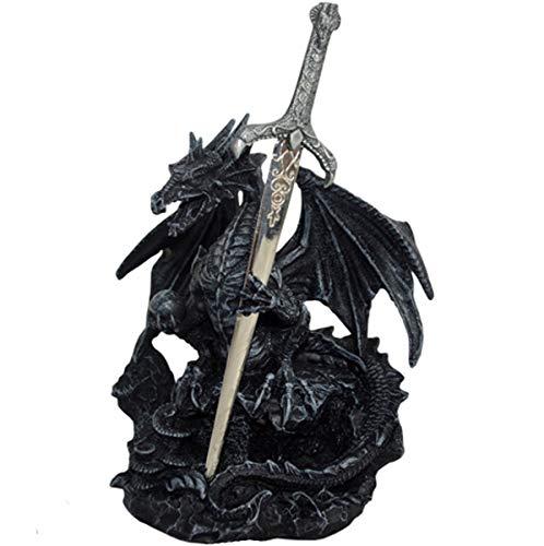 Dark Dreams Gothic Mittelalter Fantasy Brieföffner Drache Dragon Figur