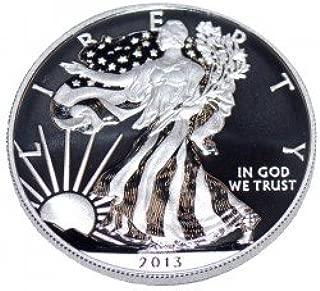 2013 W 2013 Enhanced Silver Eagle 2013 Enhanced Silver Eagle Westoint Mint Low Mintage Brilliant Uncirculated SP
