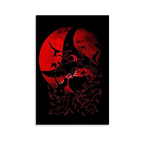 FOWDxion Póster de anime de Naruto Akatsuki de 30 x 45 cm