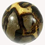 Esfera en Septaria Nódula o piedra de dragón, diámetro 5 cm