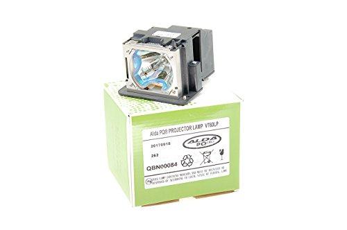 Alda PQ-Premium, Beamerlampe / Ersatzlampe für MEDION MD2950NA Projektoren, Lampe mit Gehäuse