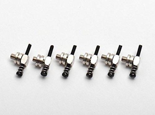 Göldo HWG6N enkele ladder voor Guild/Framus rollenbrug, nikkel (6 stuks)