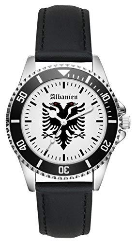 Albanien Albanische Geschenk Artikel Idee Fan Uhr L-1173