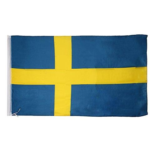 Fahnen Länderflaggen Land Nationale Banner 90 X 150 Cm - /, Schweden Nationalflagge