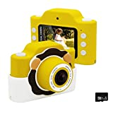 Gurmoir WiFi Kids Camera/Children Dual Camera.Best Christmas Birthday Gifts for Boys/Girls.24MP HD 1080P Video Camcorder Camera 2.0 Inch Screen Anti-Shake Camera with Soft Case(with Phone APP)