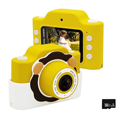 Gurmoir 撮影ビデオ複合機WIFIカメラ 防振撮影 2.0インチスクリーンデジタルカメラ シリコン保護カバー付き...