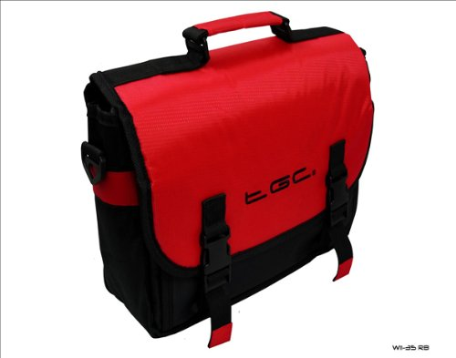 Rojo y Negro Estilo Mensajero Funda para Microsoft Surface Tablet...