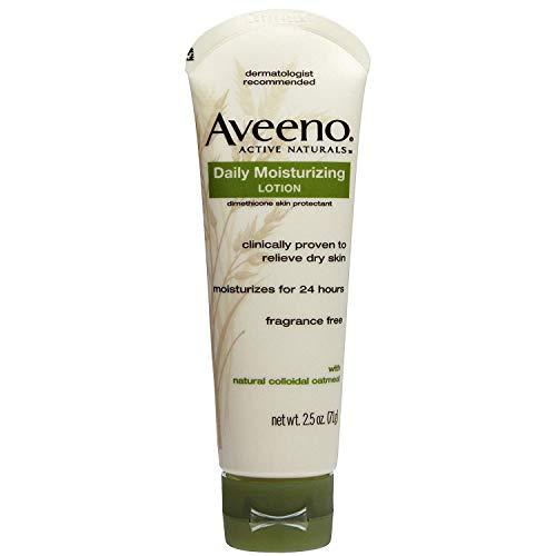 Aveeno actifs Naturals Lotion hydratante de jour - Poids net. 75 ml (71 g) - Paquet de 4 tubes