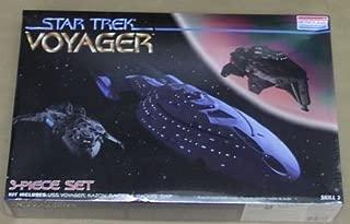 Star Trek Voyager 3-Piece Set: USS Voyager, Kazon Raider & Maquis Ship